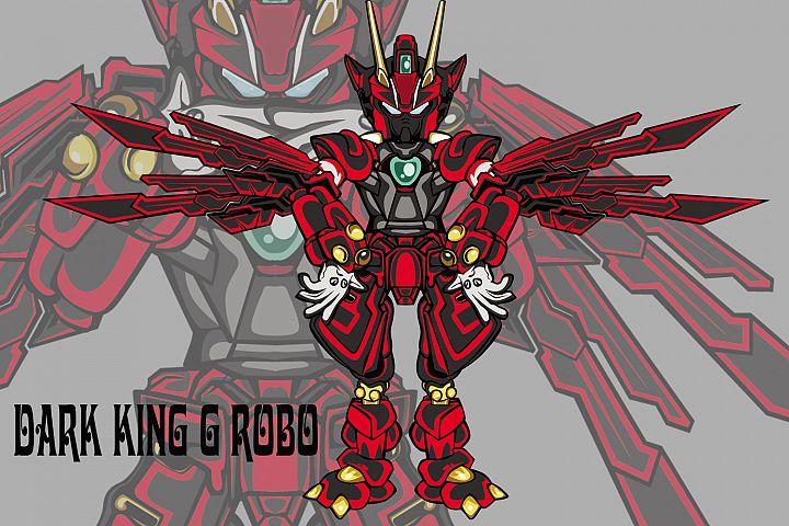 Dark King G robot