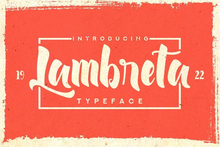 Lambreta Typeface