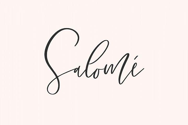 Salome Signature Font Family