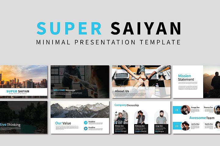 Super Saiyan Pptx Temp