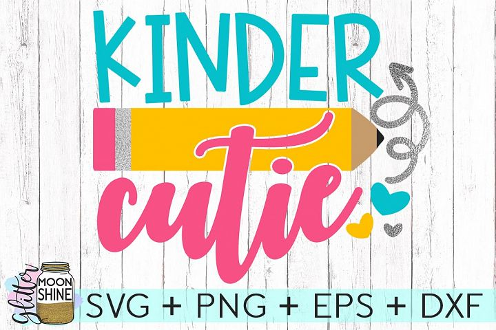 Kinder Cutie SVG DXF PNG EPS Cutting Files
