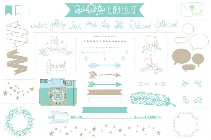 Quirky Blog Kit