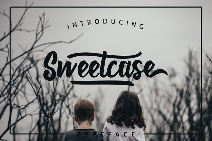 Sweetcase Typeface 30% OFF