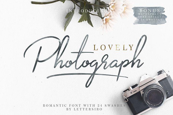 Lovely Photograph + Bonus