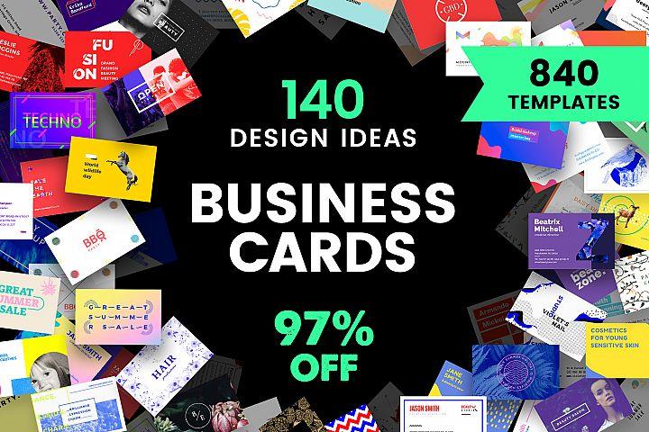 Business Card Design Templates Bundle SALE