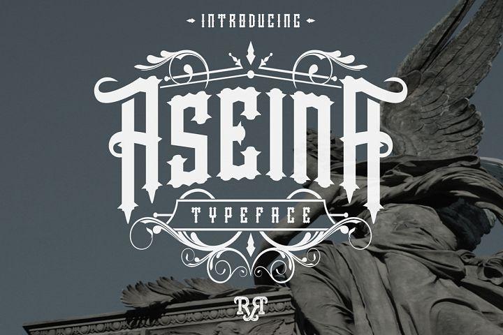 Aseina typeface