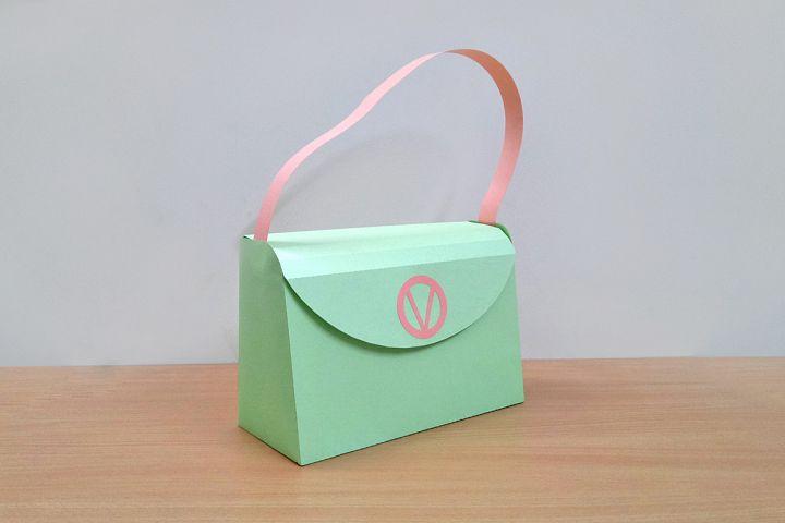 DIY Handbag - 3d papercraft