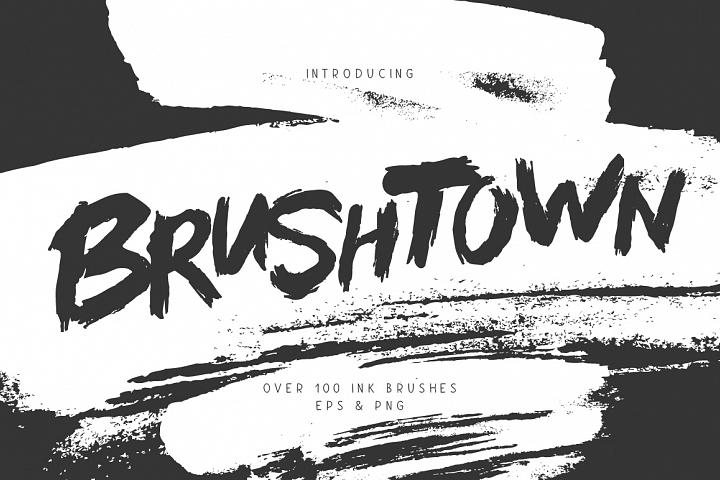 BrushTown - Over 100 Ink Brushes
