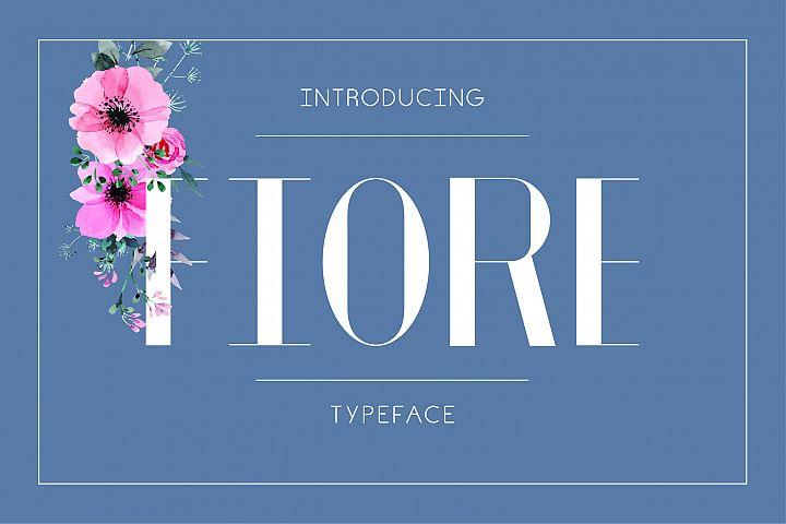 Fiore Typeface