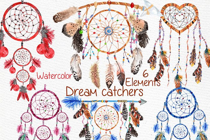 Dreamcatchers, Tribal clip art