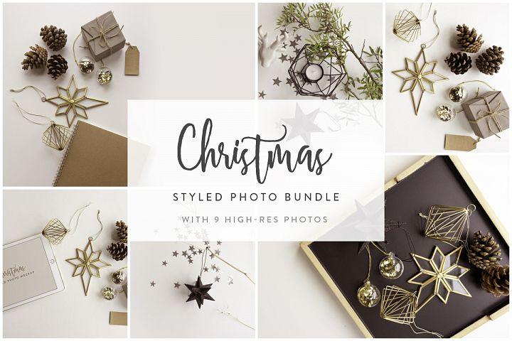 Christmas Styled Photo&Mockup #01