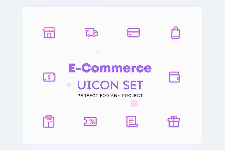 UICON - E Commerce Icons Set