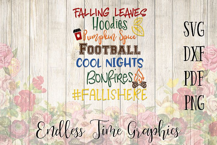 Fall SVG. Fall Cutting File. Pumpkin Spice SVG. Football Svg. Hoodies Cool Nights Svg. Svg Cut File. Autumn Cut File. Fall Shirt Decal.