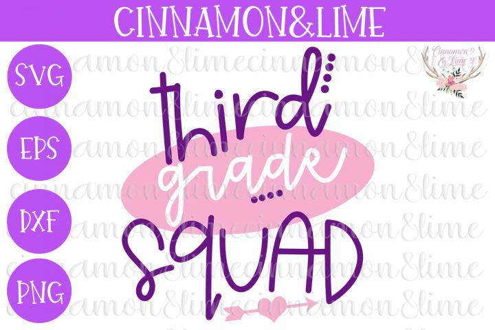 3rd Grade Squad SVG