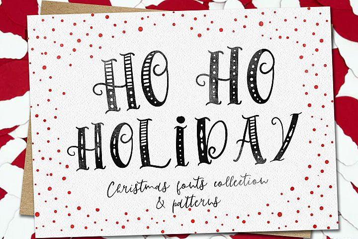 Ho-Ho-Holiday Fonts collection