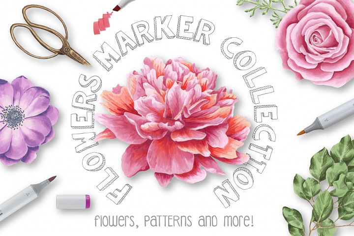 Flower Marker Collection