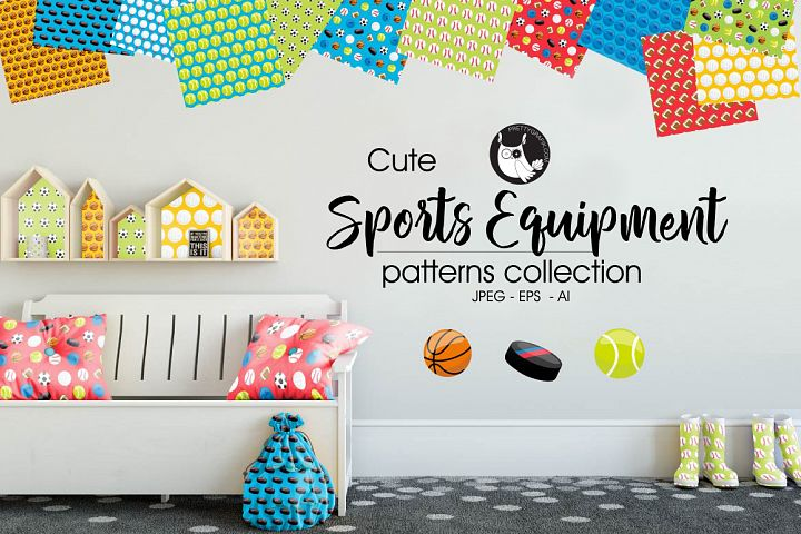 SPORTS-EQUIPMENT, digital papers