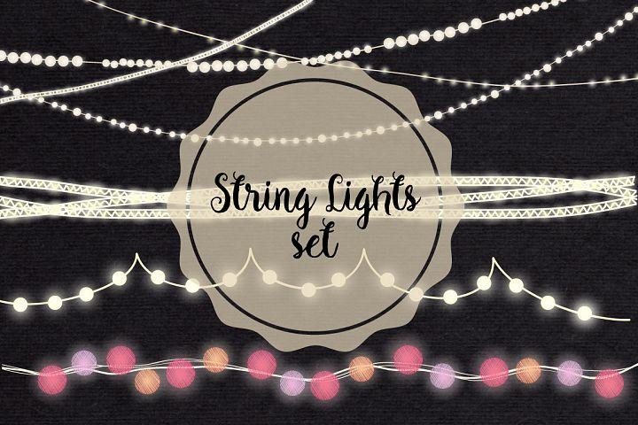 String Lights Clip art