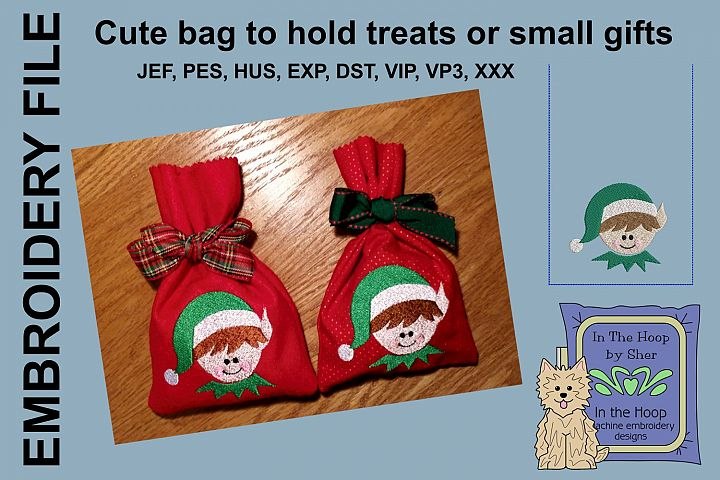 ITH Elf Treat Bag or Small Gift Bag