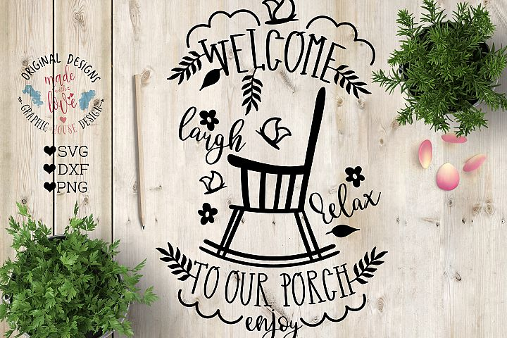 Welcome to the Porch Cut File in SVG, DXF, PNG