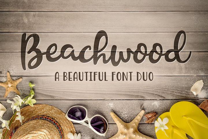 Beachwood Font Duo