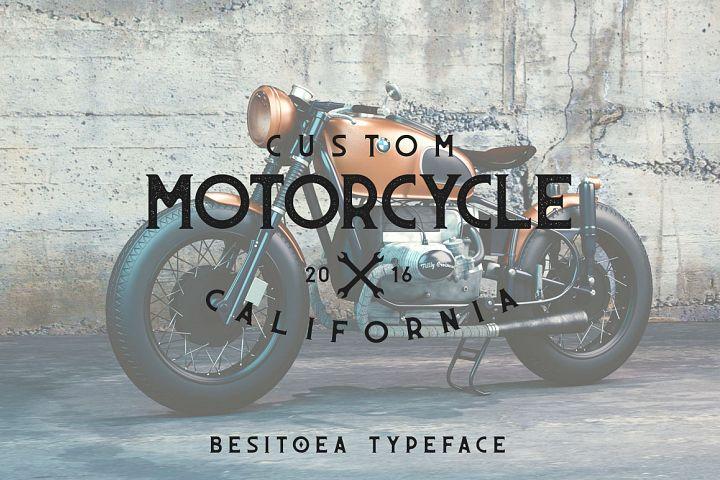 Besitoea Typeface
