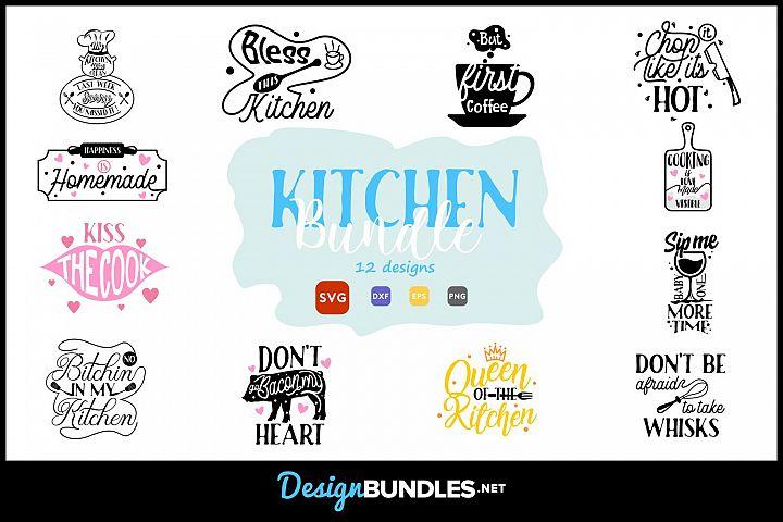 Kitchen SVG Bundle