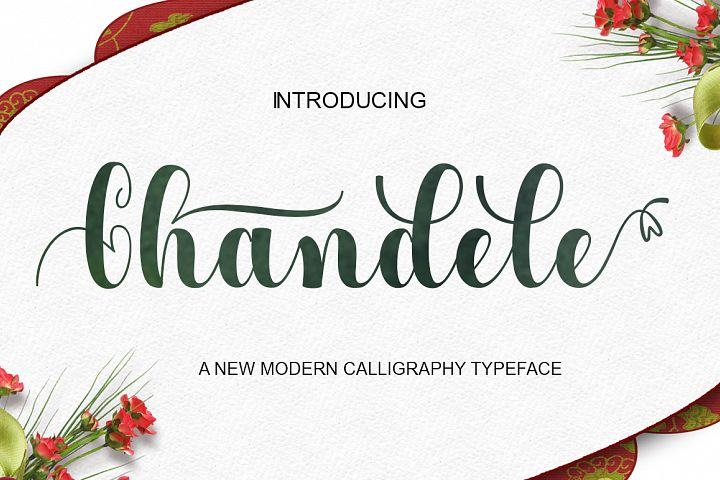 Chandele Script