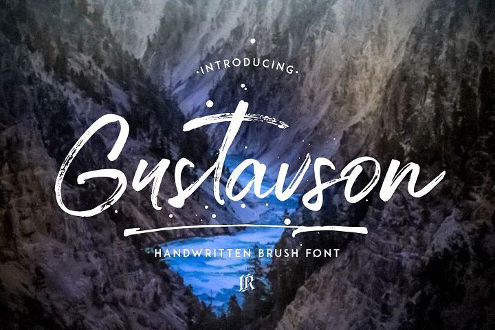 Gustavson Script Font