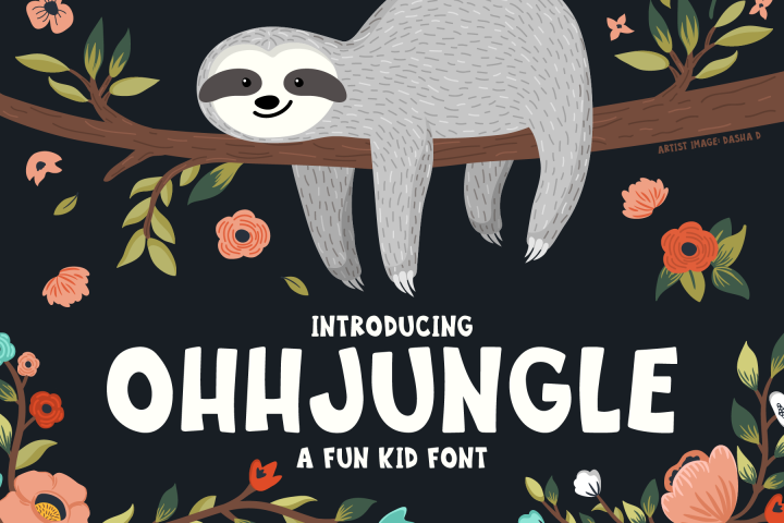 OhhJungle Font