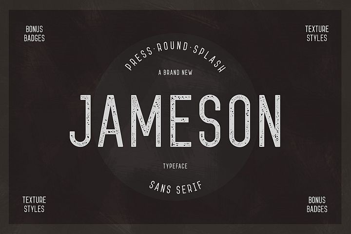 Jameson Sans-Serif