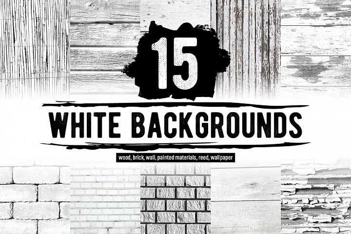 15 White backgrounds