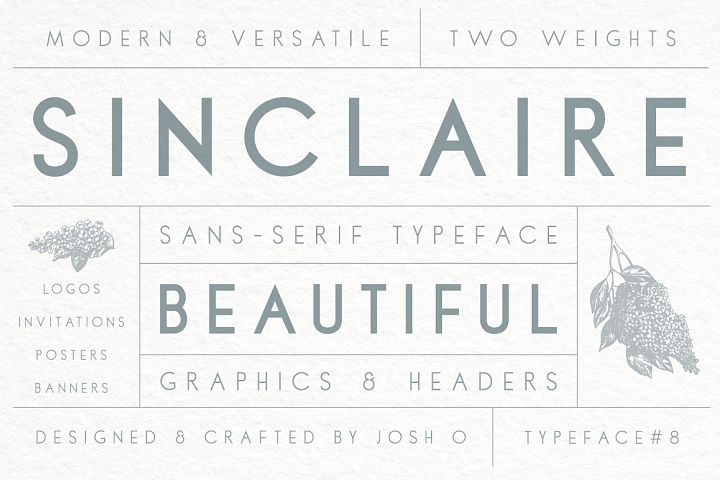 Sinclaire   A Classic Sans Serif