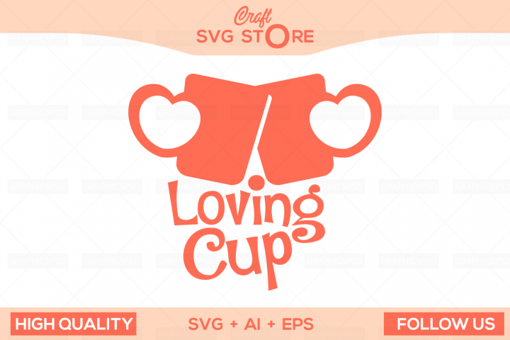 Love Cups - Craft SVG Store