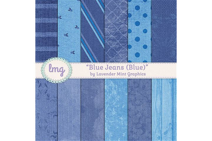 Blue Jeans Digital Papers
