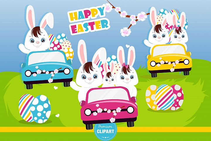 Easter bunny  illustrations, Easter graphics