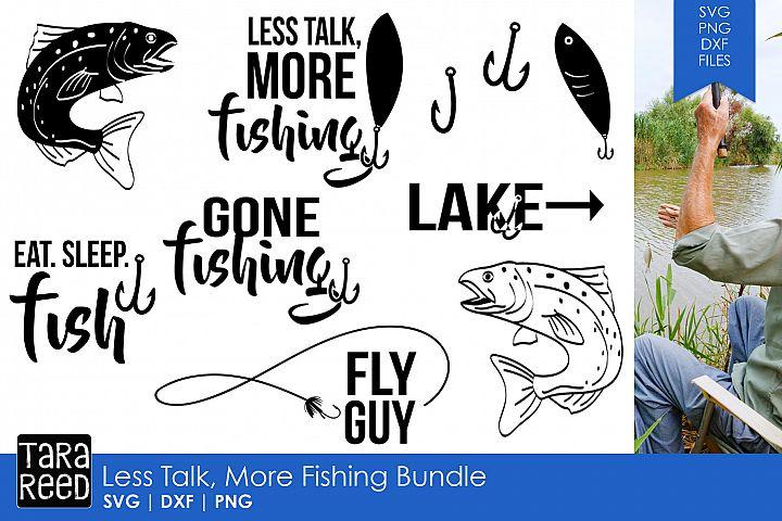 Less Talk More Fishing Bundle