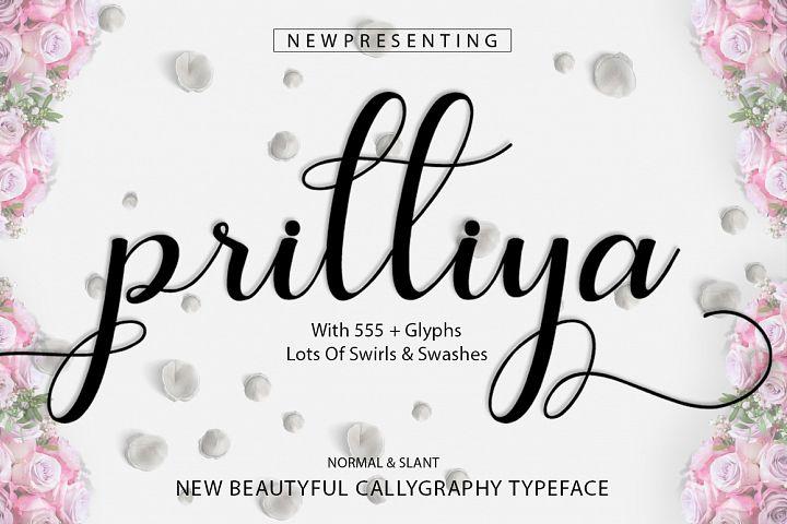Prilliya Script