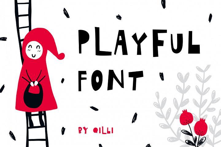 Playful Font - Display Typeface
