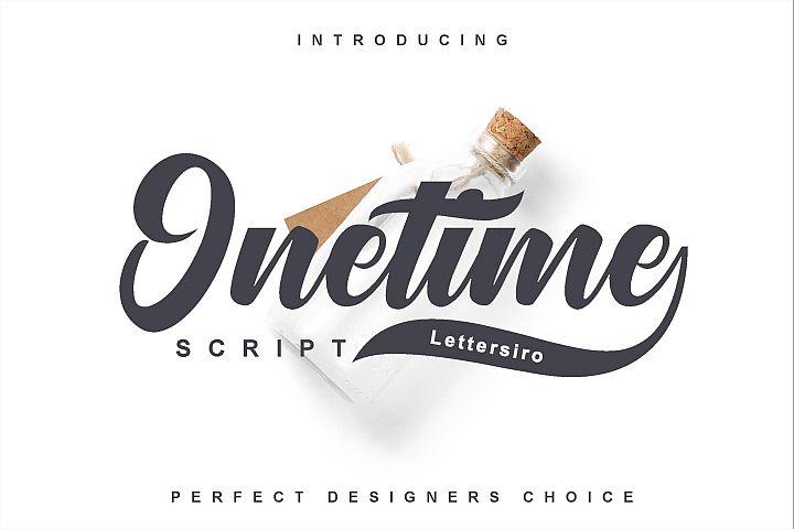 Onetime Script