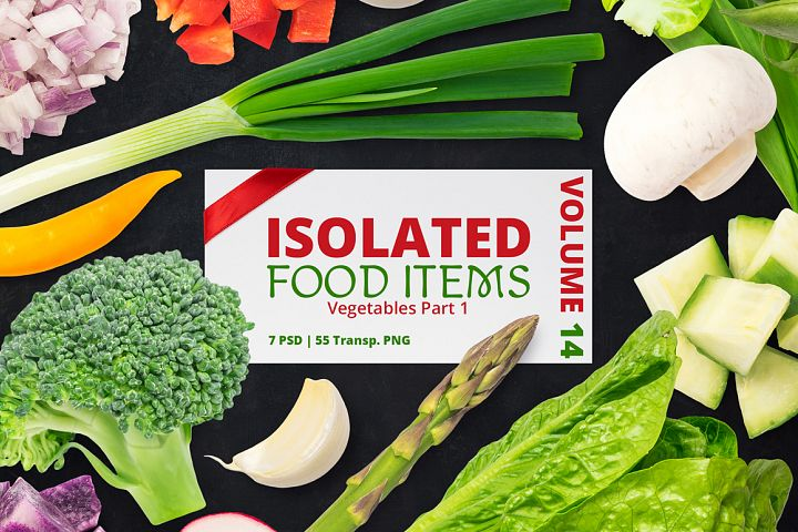 Isolated Food Items Vol.14