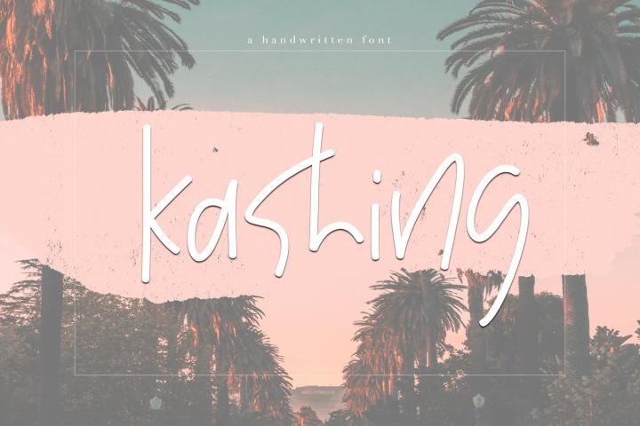 Kashing - A Chic Handwritten Font