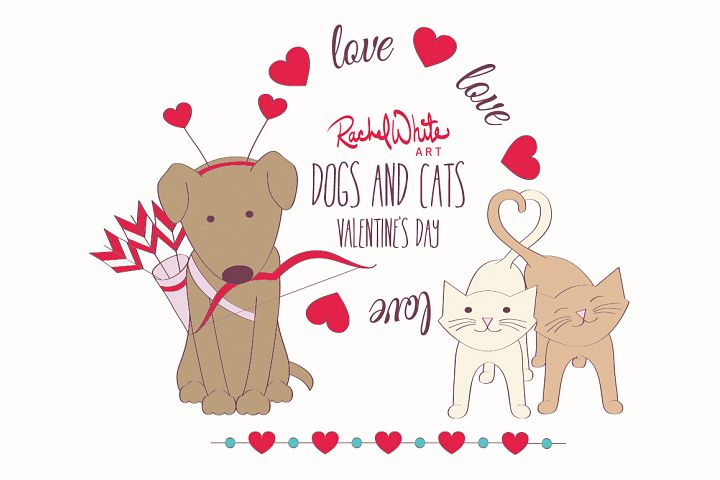 Dogs & Cats, Valentines Day
