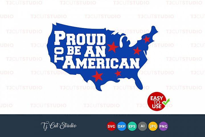 Proud to be american svg, proud american, 4th of july bow svg, Files for Silhouette Cameo or Cricut, Commercial & Personal Use.