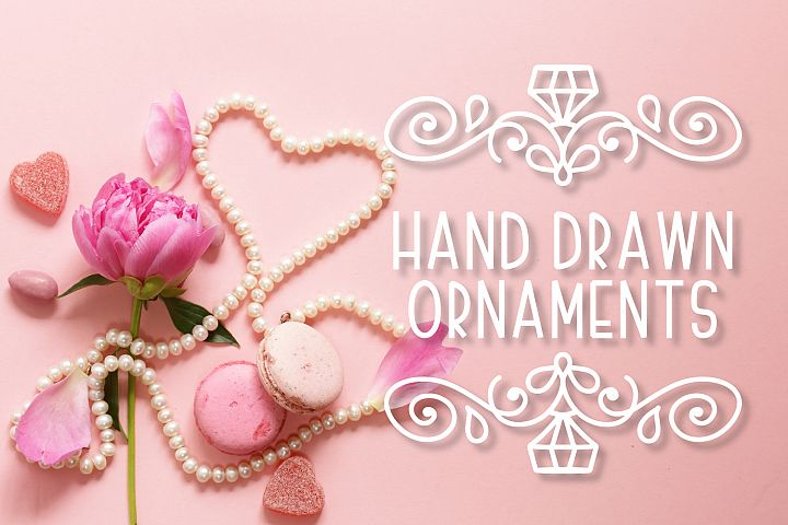 Ornament Font - The Perfect Accessory to Your Designs!