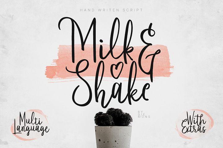 Milkandshake Script