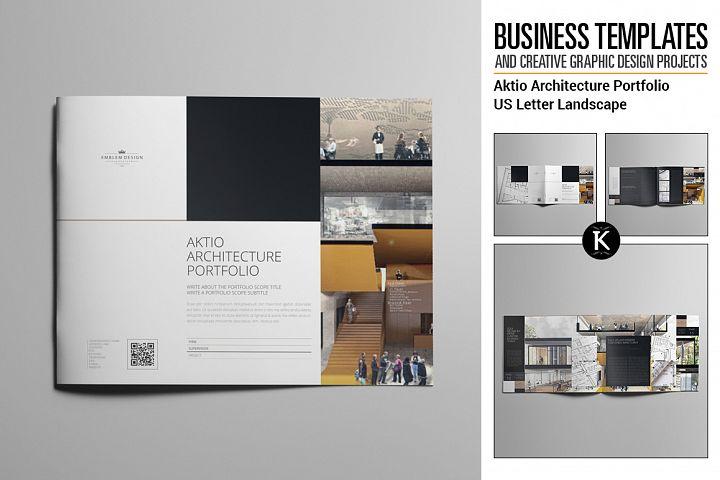 Aktio Architecture Portfolio US Letter Landscape