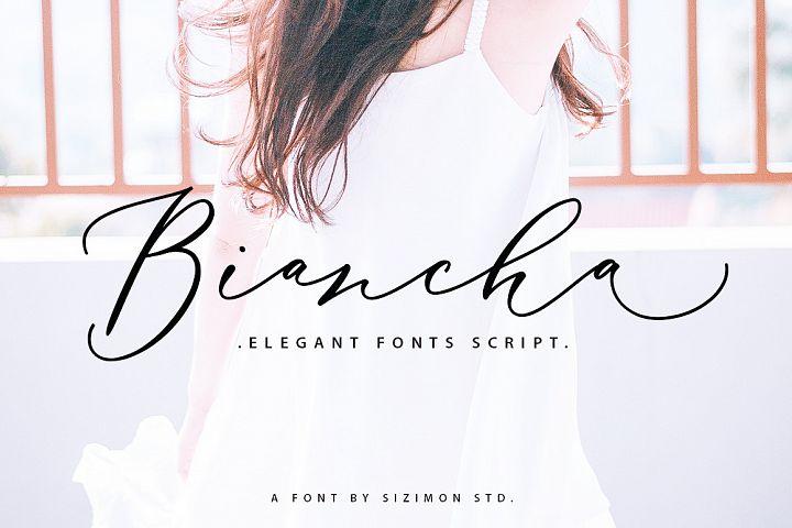Biancha Script 40% OFF