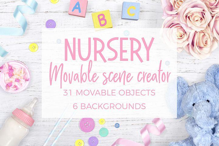 Nursery Movable Scene Creator