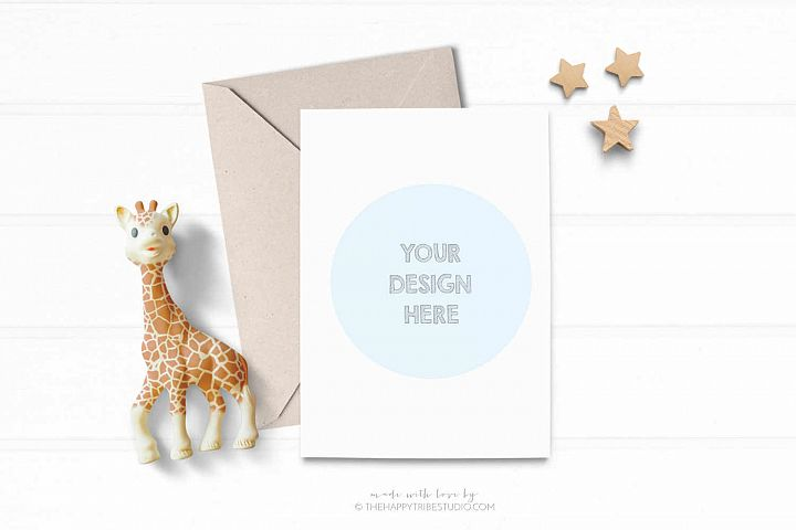 Card Mockup | Invitation Mockup | kids mockup